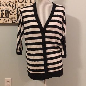 FYLO Button Up V-Neck Cardigan T-Shirt Size Small
